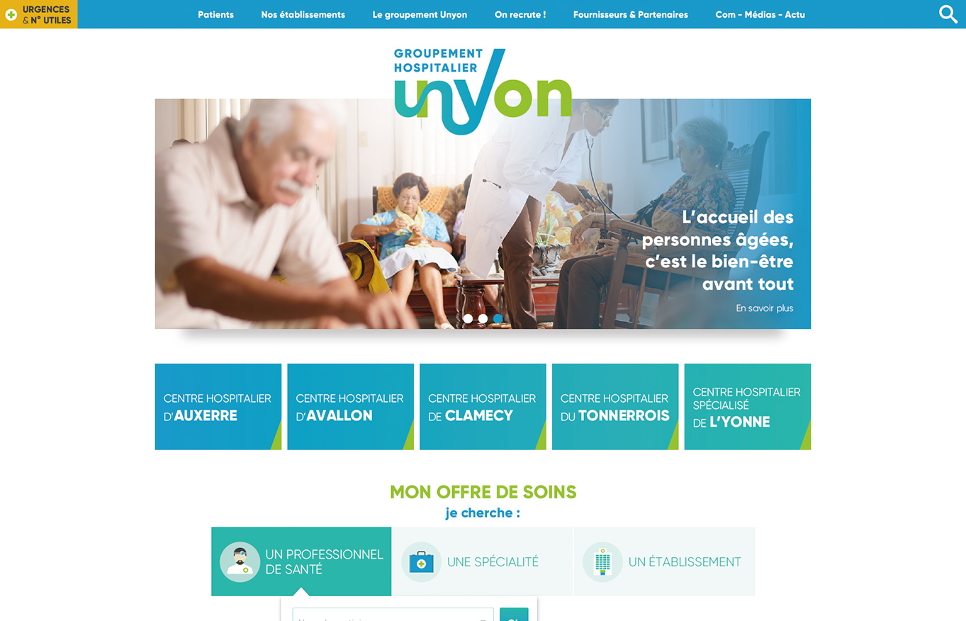 Digital Initiative - GH UnYon - site internet
